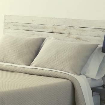 Față de pernă matlasată, bej, 50x70 cm
