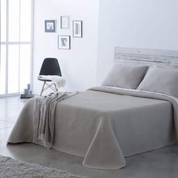 Cuvertură matlasată bej, 230x270 cm, EasyComfort