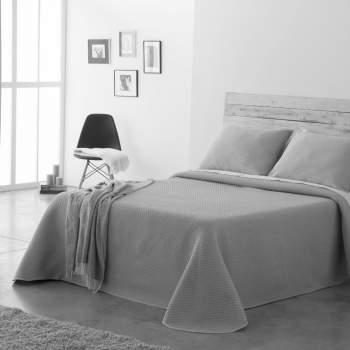 Cuvertură matlasată gri, 230x270 cm, EasyComfort