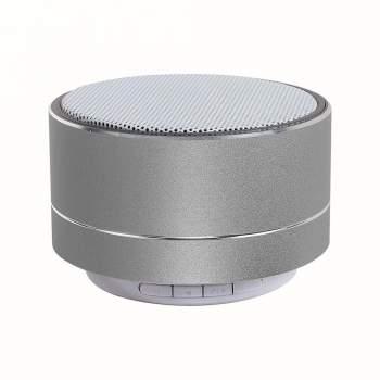 Mini boxă portabilă bluetooth, 3W, USB, argintie, Clip sonic