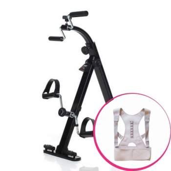 Pachet avantajos: Bicicletă de cameră Vitarid-r + Corset Active Posture
