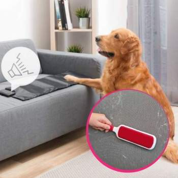 Pachet avantajos: Perie pentru îndepărtarea scamelor + Saltea pentru dresaj animale