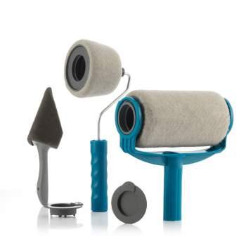 Trafalet antipicurare cu mâner extensibil, rezervor și accesorii de vopsit, Roll'n'Paint
