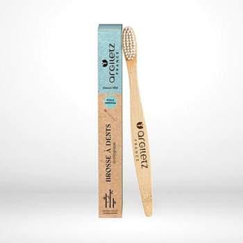 Periuță de dinți din lemn de bambus, Argiletz
