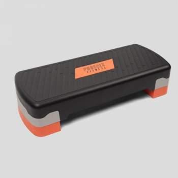 Stepper ajustabil de aerobic/fitness, cu două niveluri de înălțime,  Phoenix Fitness